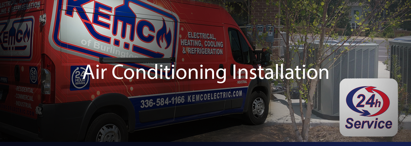 Burlington, NC ac installation