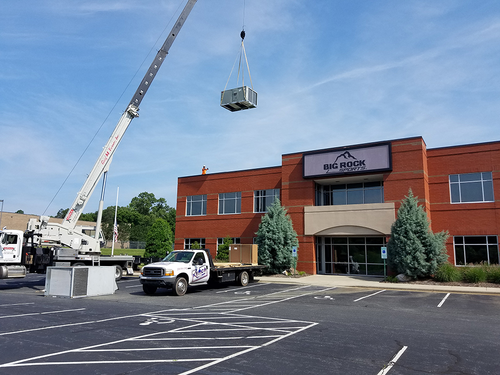 commercial air conditioning installation Burlington NC